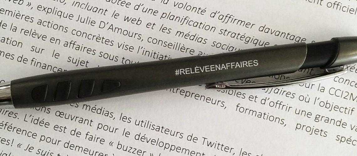 COMMUNIQUÉ – Nouveau mouvement sur Twitter : #relèveenaffaires